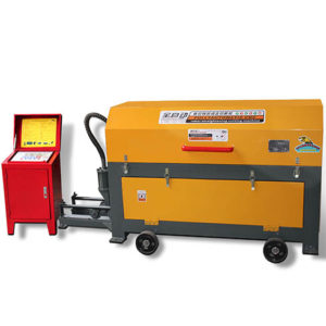 Ellsen wire straightening and cutting machine